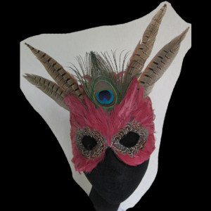Red Winged FantaFaces Mask